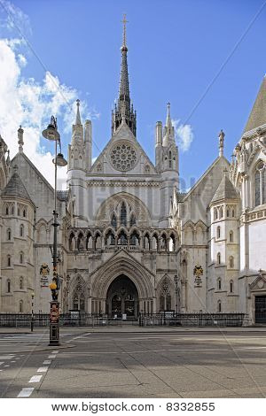 Royal Courts Of Justice, The Strand, London, England, Uk, Europe