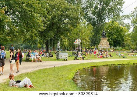 Amsterdam. Vondelpark.