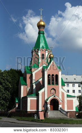 Orthodox Church dedicated to Saint Gorazd in Olomouc, Czech Republic.