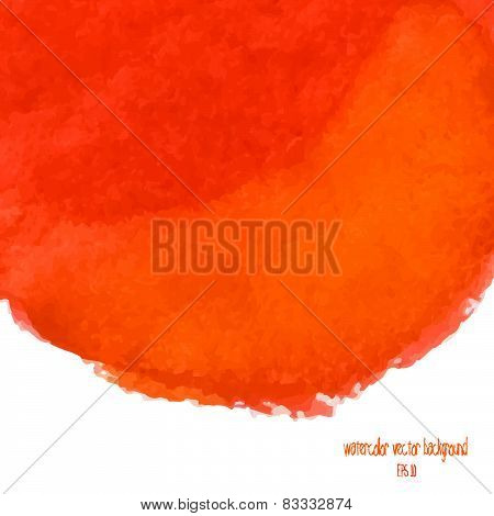 Designed Abstract Watercolor Background