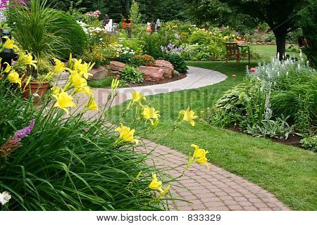 ruhigen Garten 2