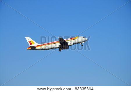 Iberia A320.