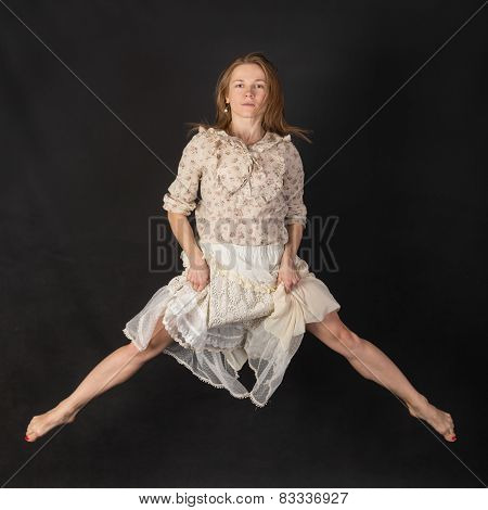 Portrait In A Jump