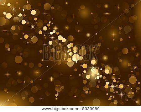 Magic lights, background sparkle, blurred vector light