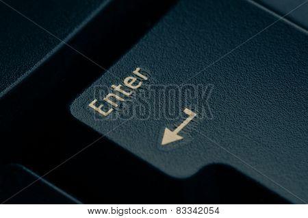 dark grey keyboard empty black enter button
