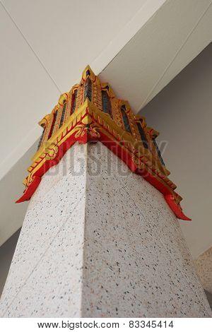Thai  pillar architecture