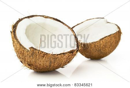 Two Halves Of Coconut