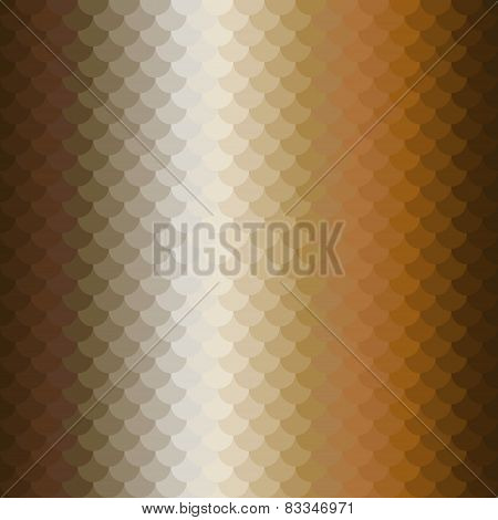 brown ochre scales