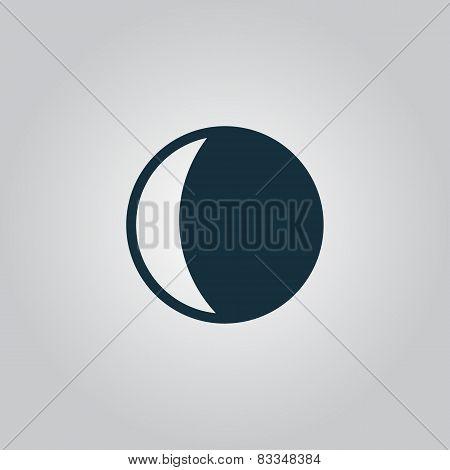 moon vector icon