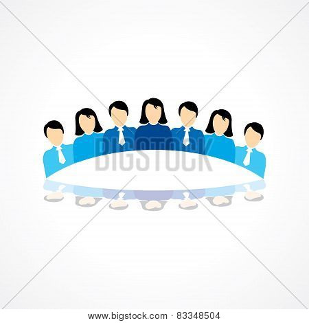 Business Teamwork concept stock vector