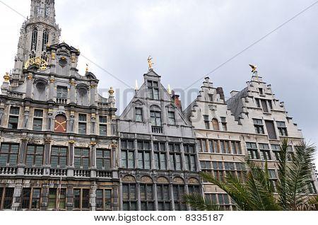 Historic Houses in Antwerp