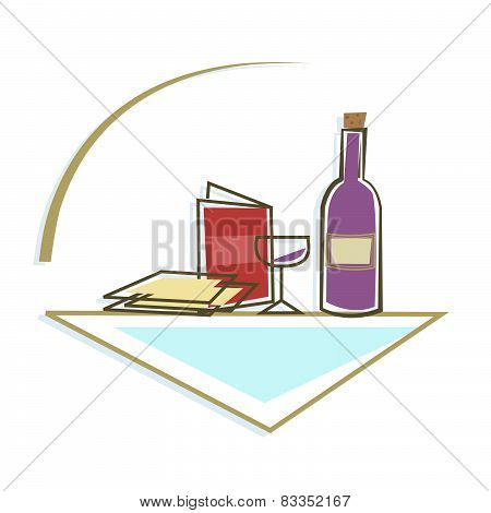 Seder Table Icon