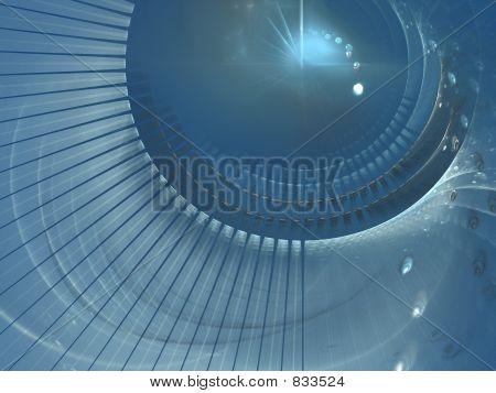 blue lens