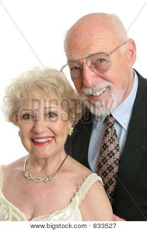 elegante Senioren portrait