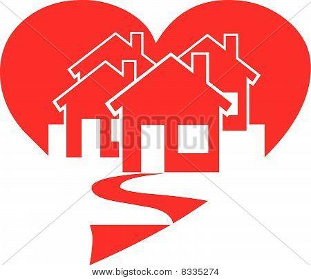 Casas de corazón
