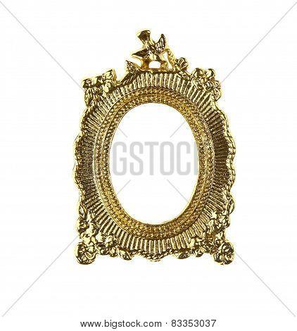 Gold Burst Picture Frame