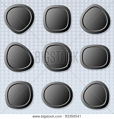 Round Web Buttons