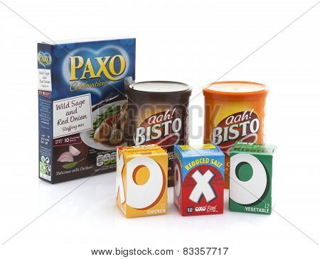 Bisto Oxo And Paxo