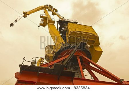 Bottom View Of Classical Cranes