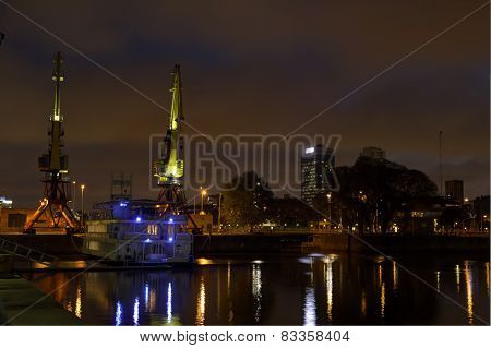 Puerto Madero By Night, Argentina