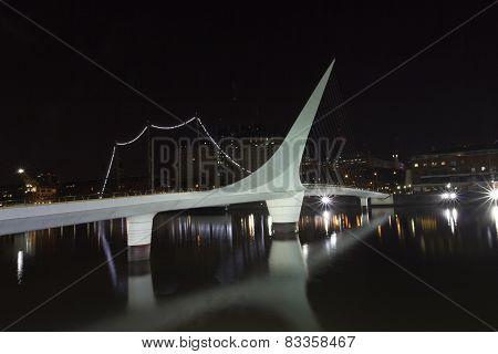 Woman Bridge, Buenos Aires