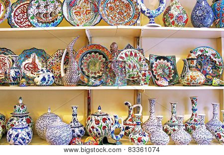 Classical Turkish Ceramics On The Market