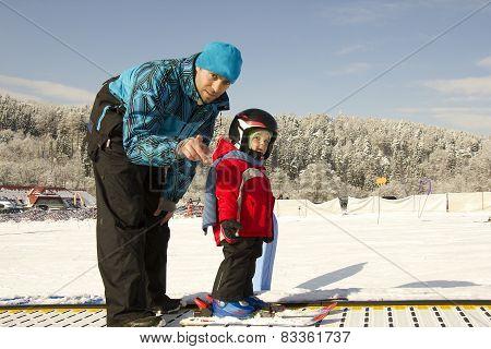 Little Skier.