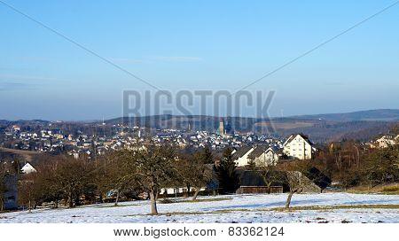 Mountain town Schneeberg