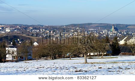 Schneeberg in the Ore Mountains