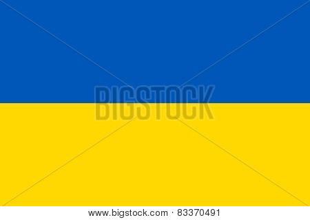 Ukrainian Official Flag
