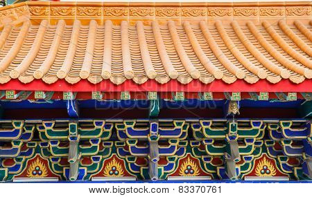 Traditional Chinese Style in Temple