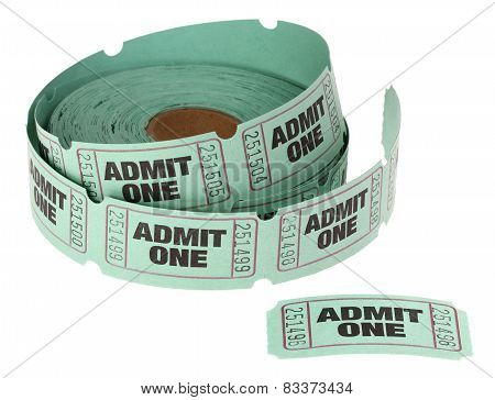Admit One Roll of Tickets