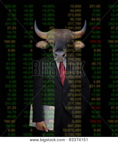 Bull Market, Stock Investment Concept