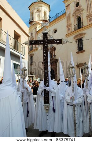 Holy Week Procession, Malaga.