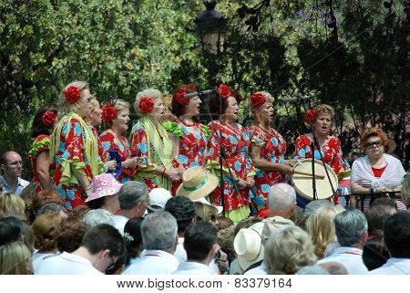 Spanish female choir, Marbella.