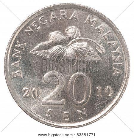 Malaysian Sen Coin