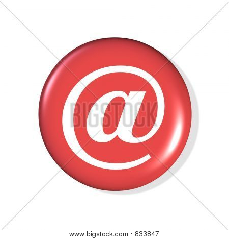 email symbol button