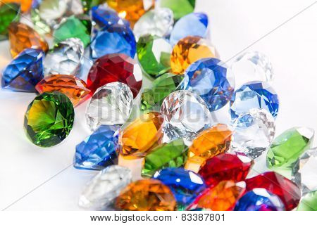 Multicolored Diamonds