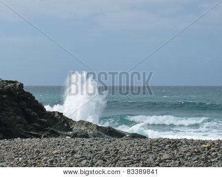 The coast of Fuerteventura