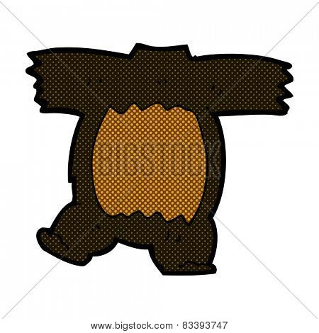 cartoon headless teddy bear