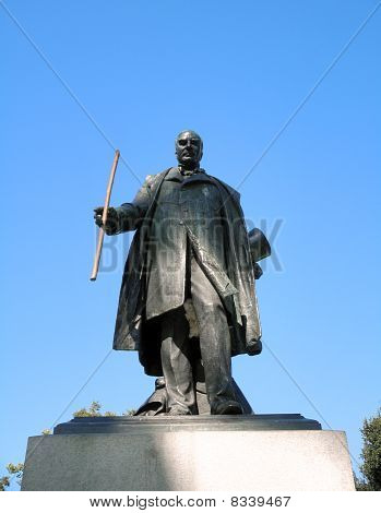 Statue Of Usa President William Mckinley Jr