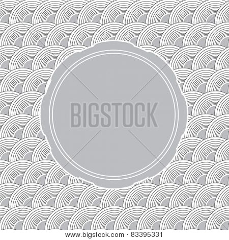 Grey wave background with copyspace for your text or invite