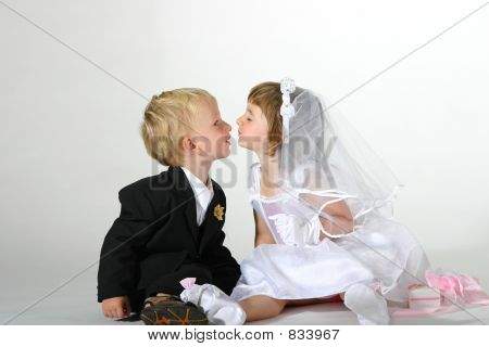 You may kiss the bride