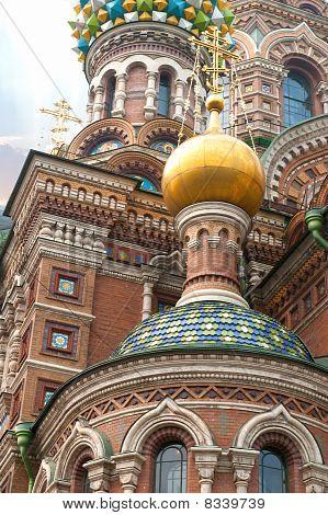 Kathedrale von Erlöser Verschüttetes Blut in St. Petersburg, Russland