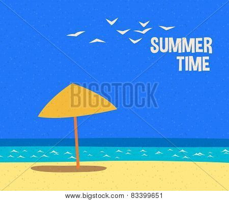 summertime holidays card