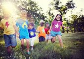 picture of friendship  - Diversity Children Friendship Happiness Playful Concept - JPG