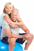 picture of elderly couple  - Gym  - JPG