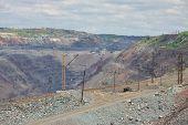 image of iron ore  - Iron ore opencast mining  - JPG