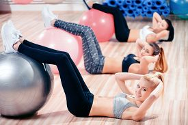 picture of pilates  - Morning pilates - JPG