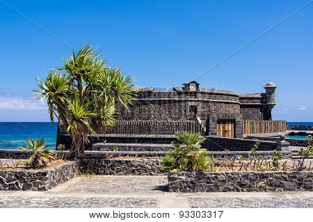 Castillo De San Juan Bautista On The Island Tenerife